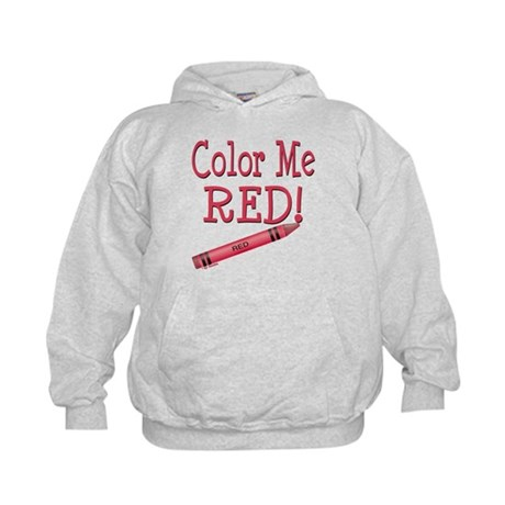 Color Me Red! Kids Hoodie