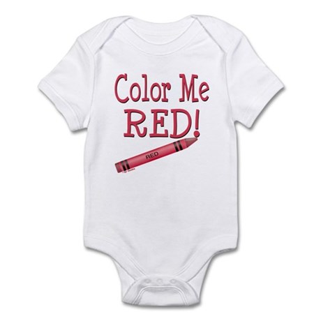 Color Me Red! Infant Bodysuit