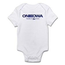 One Iowa Logo Infant Bodysuit