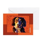 Coon Hound Greeting Cards (Pk of 10)