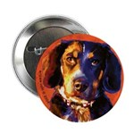 Coon Hound Button