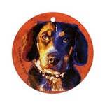 Coon Hound Ornament (Round)