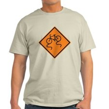 Slippery When Wet - Bicycle T-Shirt