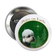 Dandie Peace Button