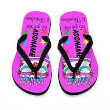 65th Party Girl Flip Flops