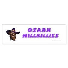 Ozark Hillbilly Bumper Bumper Sticker