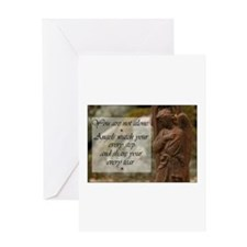 You are not Alone - Angels share your Tears Greeti