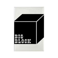 Big Block Rectangle Magnet (10 pack)