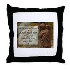 You are not Alone - Angels share your Tears Throw