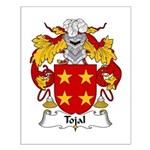 Tojal Family Crest Small Poster