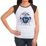 Tenreiro Family Crest Women's Cap Sleeve T-Shirt