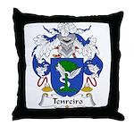 Tenreiro Family Crest Throw Pillow