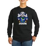 Tenreiro Family Crest Long Sleeve Dark T-Shirt
