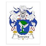 Tenreiro Family Crest Small Poster