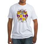 Teles Family Crest Fitted T-Shirt