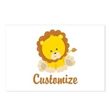 Baby Lion Postcards (Package of 8)