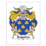 Sequeira Family Crest Small Poster
