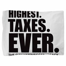 Highest.Taxes.Ever K.png Pillow Sham