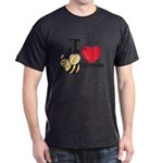 I Love Beethoven Charcoal Grey T-Shirt