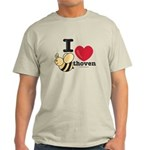 I Love Beethoven Light T-Shirt