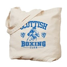 Scottish Boxing Tote Bag