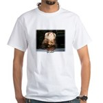 Ferret White T-Shirt