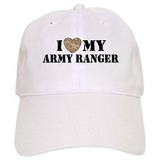 I Love My Army Ranger Baseball Cap