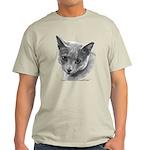 Russian Blue Cat Light T-Shirt