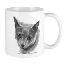 Russian Blue Cat Mug