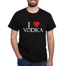 I Love Vodka T-Shirt