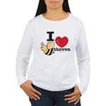 I Love BEEthoven Women's Long Sleeve T-Shirt