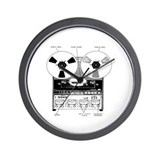 Classic Reel-to-Reel Wall Clock