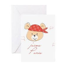 j'm paris Greeting Card