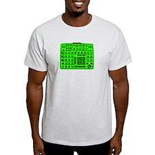 Synthi Green T-Shirt