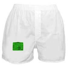 Synthi Green Boxer Shorts