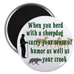 Carry Your Crook Magnet