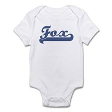 Fox (sport-blue) Infant Bodysuit