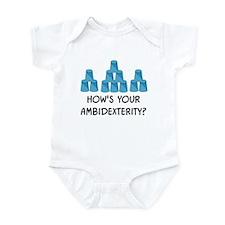 Ambidexterity Infant Bodysuit