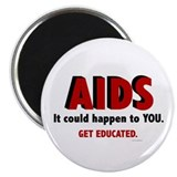 "AIDS 2.25"" Magnet (100 pack)"