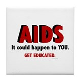 AIDS Tile Coaster