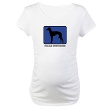 Italian Greyhound (blue) Shirt