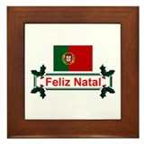 Portugal Feliz Natal Framed Tile
