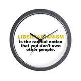Libertarian Wall Clock