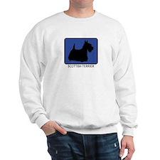 Scottish Terrier (blue) Sweatshirt