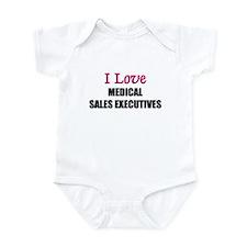 I Love MEDICAL SALES EXECUTIVES Infant Bodysuit