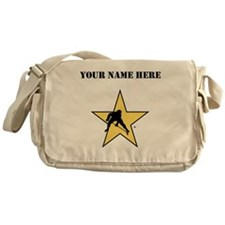 Hockey Star (Custom) Messenger Bag