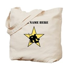 Hockey Star (Custom) Tote Bag
