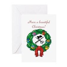 Beautician Christmas Greeting Cards (Pk of 20)