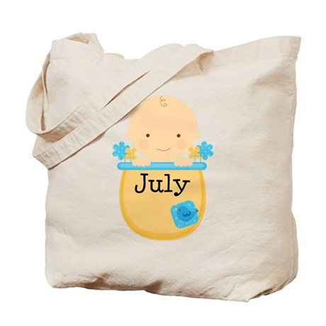 Maternity Coming In July Tote Bag