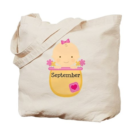 Due in September Tote Bag